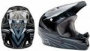 Шлем Rampage DH Helmet black/grey/white 2010